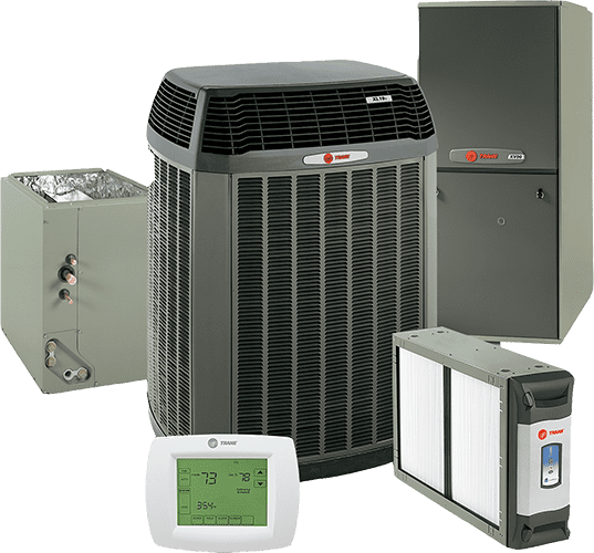 Trane products for a home