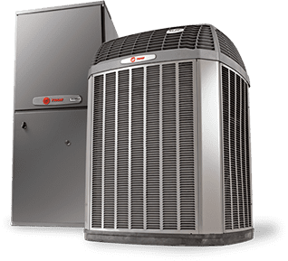 A new Heating and AC system for a home